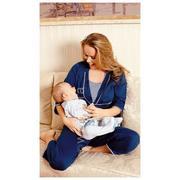 Piżama damska do karmienia piersią - rękaw i spodnie 3/4 104118  marki Wadima - zdjęcie nr 1 - Bangla