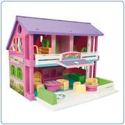Wader, domek dla lalek Play House marki Wader - zdjęcie nr 1 - Bangla
