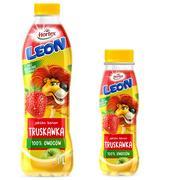 Leon 100% owoców, Sok Jabłko, banan, truskawka marki Hortex - zdjęcie nr 1 - Bangla