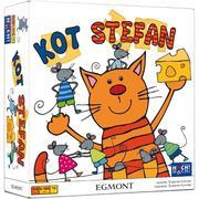 Kot Stefan, Gra planszowa dla dzieci marki Wydawnictwo Egmont - zdjęcie nr 1 - Bangla