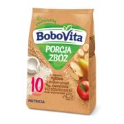 PORCJA ZBÓŻ mleczno-ryżowa z chrupkami ryżowymi owocowa, kaszka marki BoboVita - zdjęcie nr 1 - Bangla