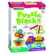 Klocki puzzle 40 elementów marki Wader - zdjęcie nr 1 - Bangla