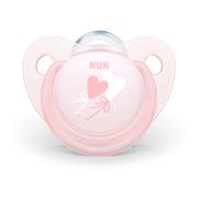 Silikonowy smoczek uspokajający NUK Trendline Baby Rose & Blue marki Nuk - zdjęcie nr 1 - Bangla