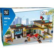 Klocki MyCity Stacja Obsługi marki Blocki - zdjęcie nr 1 - Bangla