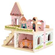 Drewniany zamek marki Mini Matters - zdjęcie nr 1 - Bangla