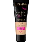 SELFIE TIME kryjąco-nawilżający podkład i korektor 2w1 marki Eveline Cosmetics - zdjęcie nr 1 - Bangla