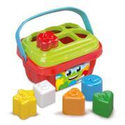 Clementoni, Koszyk kształtów i kolorów, sorter marki Clementoni - zdjęcie nr 1 - Bangla