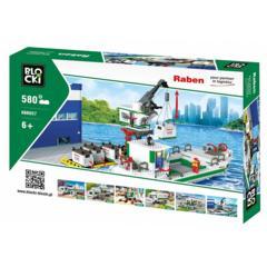 Statek kontenerowy z żurawiem marki Blocki - zdjęcie nr 1 - Bangla
