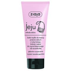 Białe mydło do twarzy przeciw sebum marki Ziaja - zdjęcie nr 1 - Bangla