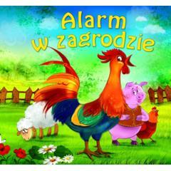 Alarm w zagrodzie - książeczka kartonowa marki Wydawnictwo MD Monika Duda - zdjęcie nr 1 - Bangla