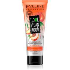 Gruboziarnisty oczyszczający peeling do twarzy I LOVE VEGAN FOOD Pestki moreli i olejek migdałowy marki Eveline Cosmetics - zdjęcie nr 1 - Bangla