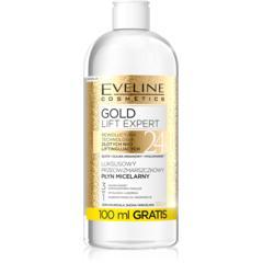 Luksusowy przeciwzmarszczkowy płyn micelarny 3w1 Gold Lift Expert marki Eveline Cosmetics - zdjęcie nr 1 - Bangla
