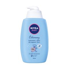 Ochronny szampon i płyn do kąpieli 2w1 Nivea Baby marki Nivea - zdjęcie nr 1 - Bangla