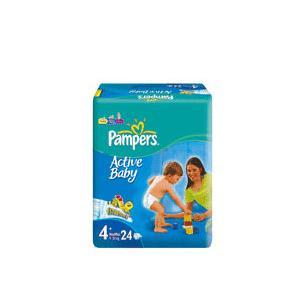 Active Baby 3, 4, 4+, 5, 6 stara wersja do 09.2011 r. marki Pampers - zdjęcie nr 1 - Bangla