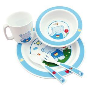 Plastikowy zestaw stołowy 4/401 marki Canpol babies - zdjęcie nr 1 - Bangla