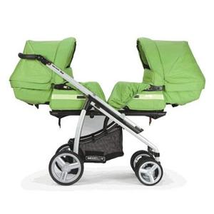 Wózek dla bliźniąt Vector Duo marki Bebecar - zdjęcie nr 1 - Bangla