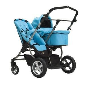 Wózek City Twin - wersja głeboko - spacerowa marki FirstWheels - zdjęcie nr 1 - Bangla