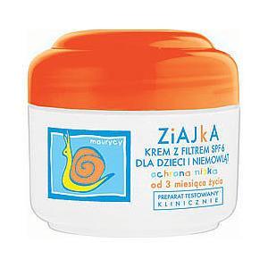Krem z filtrem SPF 6 dla dzieci i niemowląt ochronny Ziajka marki Ziaja - zdjęcie nr 1 - Bangla
