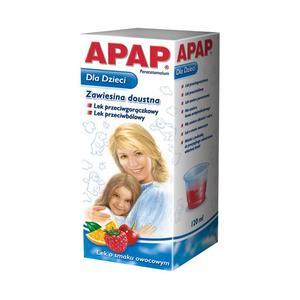 Apap dla dzieci i niemowląt. Zawiesina lub krople. marki USP Zdrowie - zdjęcie nr 1 - Bangla