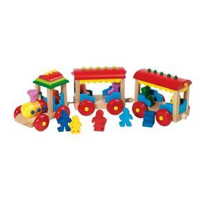 Drewniany pociąg bornholm marki Toys Pure - zdjęcie nr 1 - Bangla