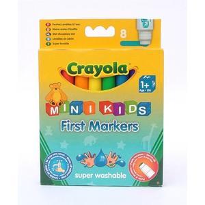 First Markers Mini Kids. Pierwsze flamastry zmywalne 1+ marki Crayola - zdjęcie nr 1 - Bangla