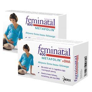 Feminatal Metafolin 800, Feminatal Metafolin 400 + DHA marki Merck - zdjęcie nr 1 - Bangla