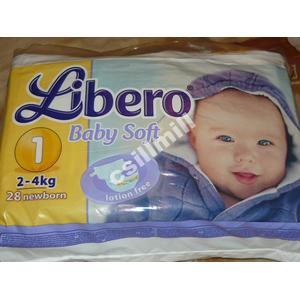Pieluszki Libero Baby Soft marki SCA Hygiene Products - zdjęcie nr 1 - Bangla