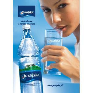 Woda Jurajska niegazowana (stara wersja) marki Jurajska Spółdzielnia Pracy - zdjęcie nr 1 - Bangla