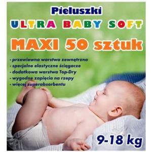 Pieluszki Ultra Baby Soft. Różne rozmiary marki Higieco - zdjęcie nr 1 - Bangla