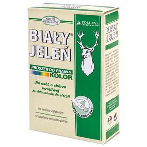 Proszek do prania Biały Jeleń biel oraz kolor. Różne wielkości opakowań marki Pollena Ostrzeszów - zdjęcie nr 1 - Bangla
