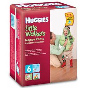 Jednorazowe majteczki Little Walkers, Walkers Jeans. Różne rozmiary marki Huggies - zdjęcie nr 1 - Bangla