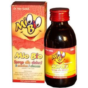 Mio Bio syrop dla dzieci z miodem i aloesem marki S-Lab - zdjęcie nr 1 - Bangla
