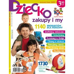 Czasopismo Dziecko, zakupy i my marki Wydawnictwo Murator - zdjęcie nr 1 - Bangla