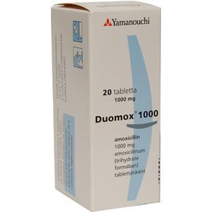 DUOMOX amoxicillina, antybiotyk marki Astellas Pharma - zdjęcie nr 1 - Bangla