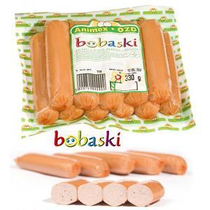 Parówki Bobaski. Paróweczki dla dzieci marki Animex - zdjęcie nr 1 - Bangla