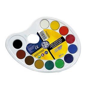 Farby akwarelowe, różne opakowania. Akwarele szkolne marki Astra - zdjęcie nr 1 - Bangla