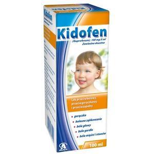 Kidofen lek przeciwgorączkowy marki Aflofarm - zdjęcie nr 1 - Bangla