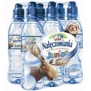 Nałęczowianka Junior - woda mineralna dla dzieci powyżej 1. roku życia marki Nałęczowianka - zdjęcie nr 1 - Bangla