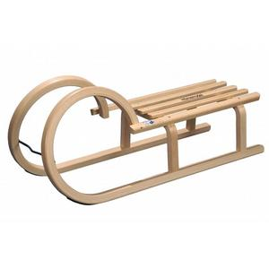 Drewniane sanki Baranie Rogi - z listwami lub taśmą marki VTSport - zdjęcie nr 1 - Bangla