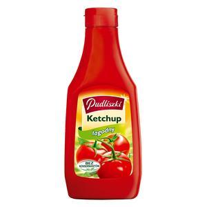 Ketchup Łagodny. Różne opakowania marki Pudliszki - zdjęcie nr 1 - Bangla