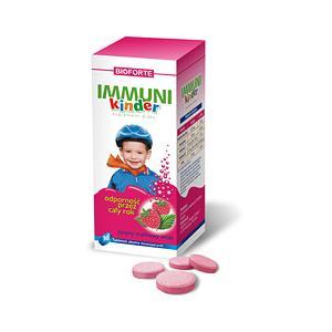 Immuni Kinder, Ekstra musujące tabletki o smaku malinowym IMMUNIKINDER marki Bioforte - zdjęcie nr 1 - Bangla