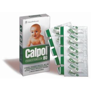 Calpol, czopki przeciwgorączkowe 80 mg marki GSK Glaxo Smith Kline - zdjęcie nr 1 - Bangla