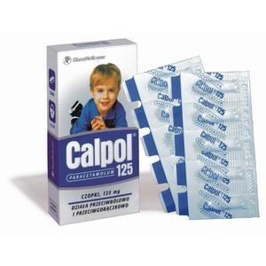 Calpol, czopki przeciwgorączkowe 125 mg marki GSK Glaxo Smith Kline - zdjęcie nr 1 - Bangla