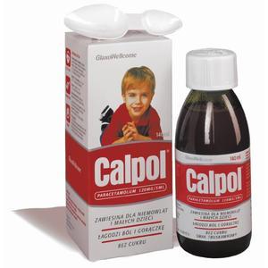 Calpol, syrop przeciwgorączkowy 120 mg marki GSK Glaxo Smith Kline - zdjęcie nr 1 - Bangla