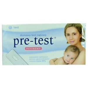PRE-TEST, płytkowy test ciążowy marki Noris Pharma - zdjęcie nr 1 - Bangla