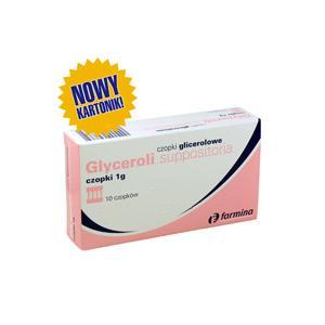SUPPOSITORIA GLYCERINI, Czopki glicerynowe 1 g marki Farmina - zdjęcie nr 1 - Bangla