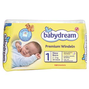 Babydream, Premium Windeln 1 New Born marki Rossmann - zdjęcie nr 1 - Bangla