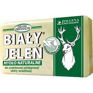 Hipoalergiczne mydło naturalne Biały Jeleń marki Pollena Ostrzeszów - zdjęcie nr 1 - Bangla