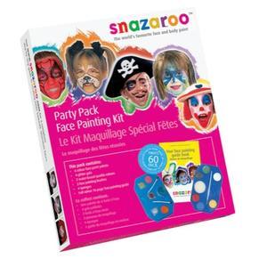 Face Painting Kit, Farby do malowania twarzy. Różne zestawy marki Snazaroo - zdjęcie nr 1 - Bangla