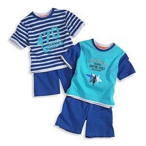Piżamka chłopięca - 2-pak marki C&A - zdjęcie nr 1 - Bangla